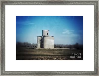 Antique Grain Elevator Framed Print by Jeremy Linot