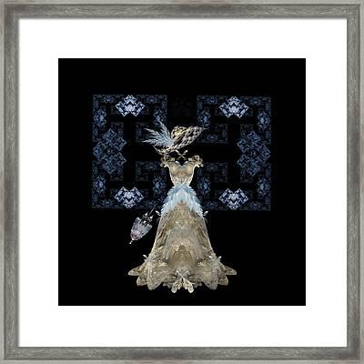 Antique Lace Framed Print