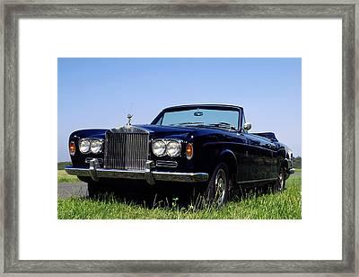 Antique Rolls Royce Framed Print