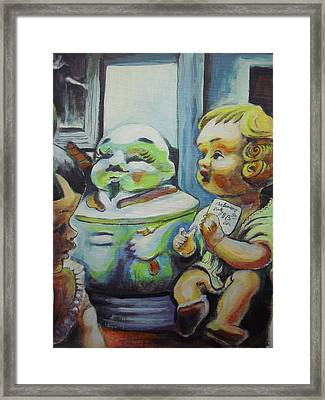 Antique Store Finds I Framed Print by Aleksandra Buha