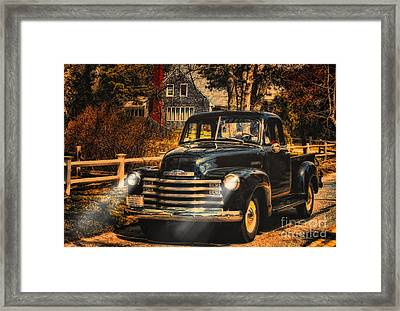 Antique Truckin Framed Print