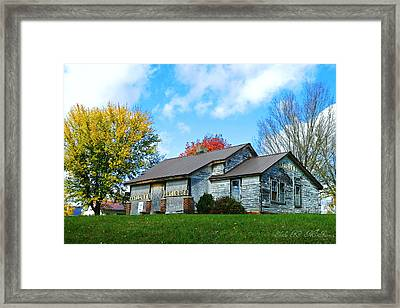Antiques Of The Blue Ridge Mountains Framed Print