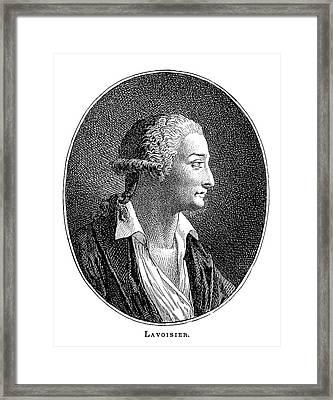 Antoine Lavoisier, French Chemist Framed Print by