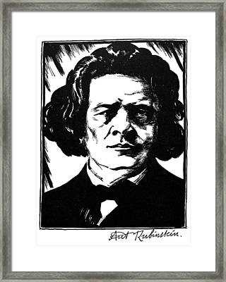 Anton Rubinstein Framed Print by Granger