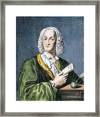 Antonio Vivaldi (1675?-1741) Framed Print by Granger