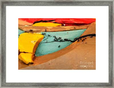 Antsy Framed Print by Dean Harte