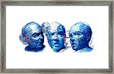 Anxiety And Alternate Universes Framed Print by Adam Long