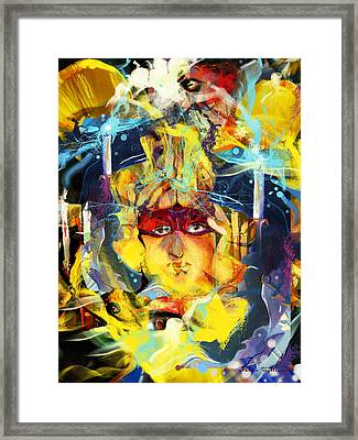 Anything But Love Framed Print by Mikko Tyllinen