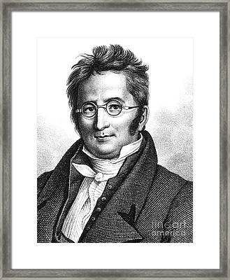 A.p. De Candolle, Swiss Botanist Framed Print by Science Source