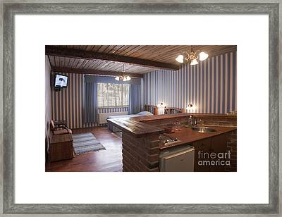 Apartment Suite In A Luxury Hotel Framed Print by Jaak Nilson