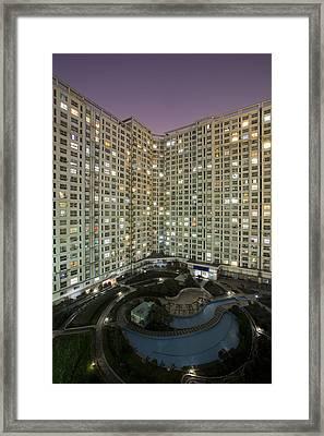 Apartments Framed Print by Arnd Dewald