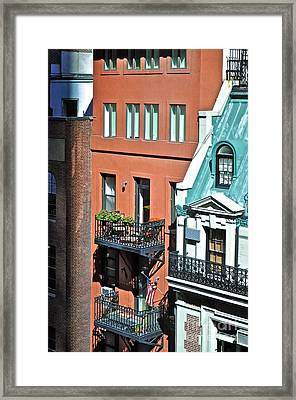 Apartments Near Moma Framed Print