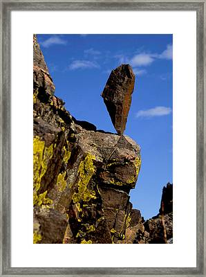 Apex Point Framed Print by Arlyn Petrie