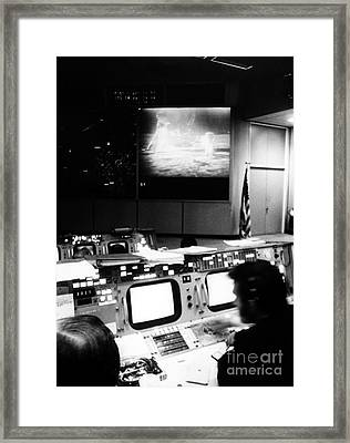 Apollo 11: Mission Control Framed Print