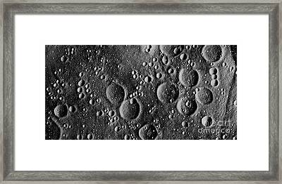 Apollo 13 Landing Site Framed Print by NASA  Science Source