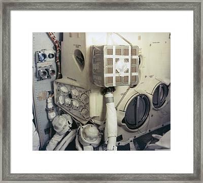 Apollo 13 Lunar Module And The Mailbox Framed Print by Everett