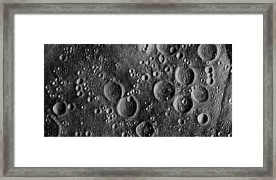 Apollo 13 Planned Landing Site On Moon Framed Print