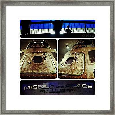 Apollo 15 Command Module (4th Mission Framed Print
