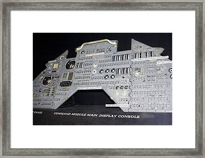 Apollo Control Panel Framed Print by Mark Williamson