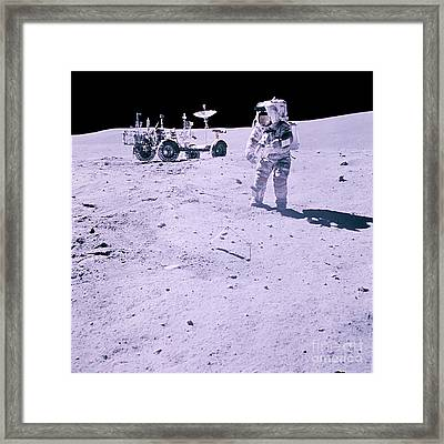 Apollo Mission 16 Framed Print