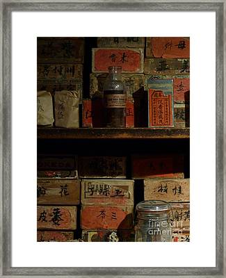 Framed Print featuring the photograph Apothecary by Newel Hunter