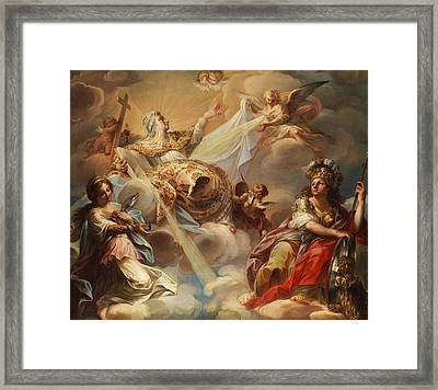 Apotheosis Of The Ekklesia Framed Print by French