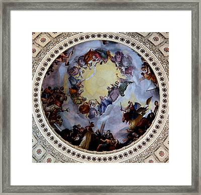Framed Print featuring the photograph Apothesis Of Washington by Pravine Chester