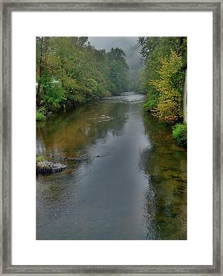 Framed Print featuring the photograph Appalachian Trail by Janice Spivey
