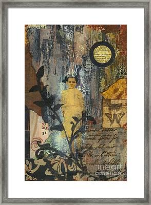 Apparition Beyond The Vine Framed Print