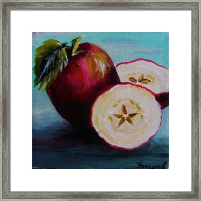 Apple Magic Framed Print