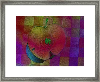 Framed Print featuring the photograph Apple Of My Eye by David Pantuso