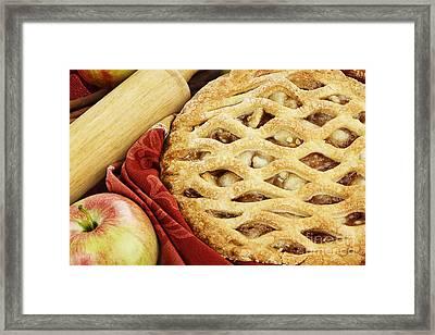 Apple Pie Framed Print by Stephanie Frey