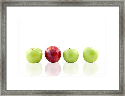 Apples Framed Print by Darren Fisher
