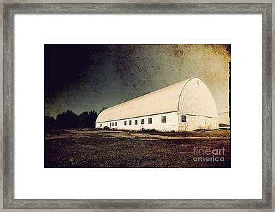 Appleton Barn Framed Print by Joel Witmeyer