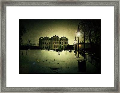 Appleton Waterfront Framed Print by Joel Witmeyer