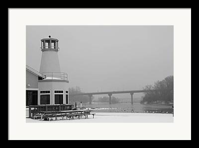Appleton Yacht Club Framed Prints