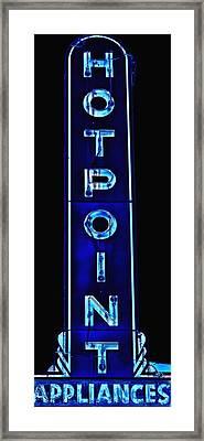 Appliance Sign Framed Print