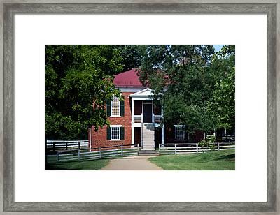 Appomattox County Court House 1 Framed Print by Teresa Mucha