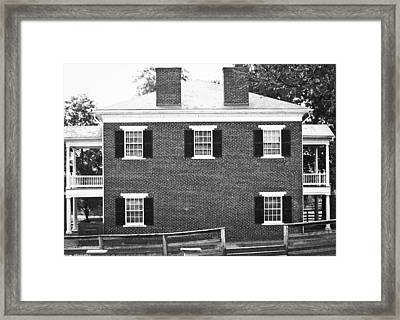 Appomattox Courthouse Framed Print by Teresa Mucha