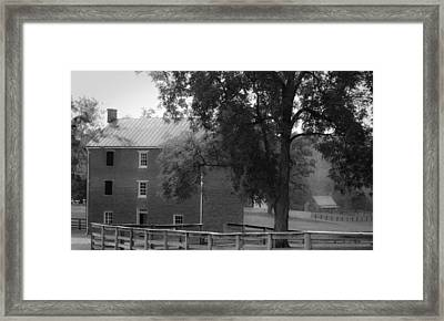 Appomatttox County Jail Virginia Framed Print by Teresa Mucha