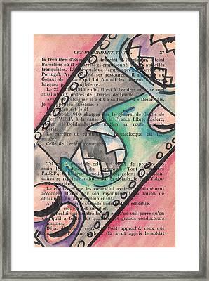 Appris Framed Print by Jera Sky
