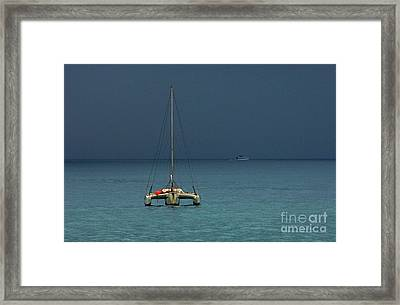 Approaching Storm Framed Print by Bob Christopher