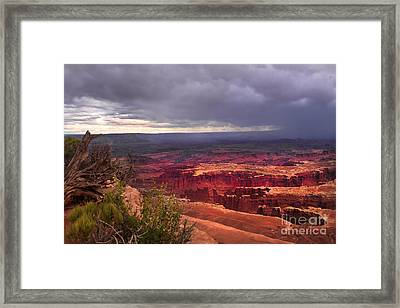 Approaching Storm  Framed Print by Robert Bales