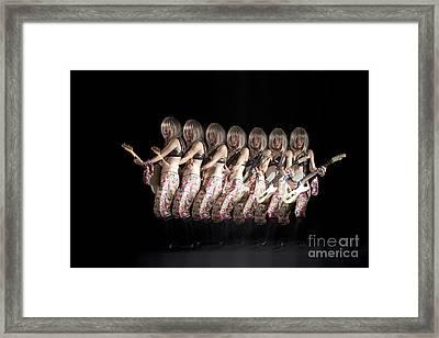 April Laragy Framed Print by Ted Kinsman