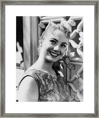 April Love, Shirley Jones, 1957 Framed Print
