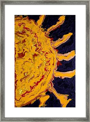 April Sunrise Framed Print by Gregory Young