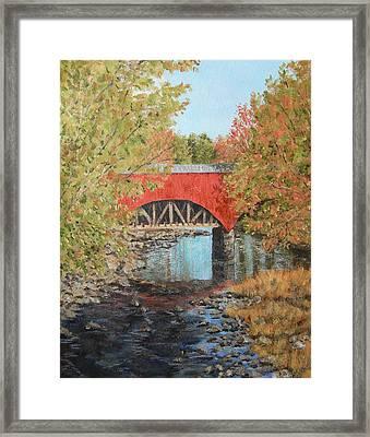 Aquaduct At Pt. Pleasant Framed Print
