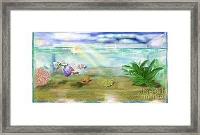 Aquarium Framed Print by MURUMURU By FP