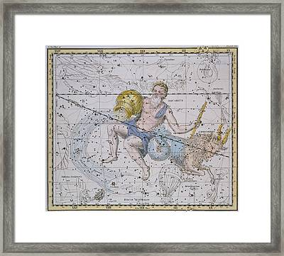 Aquarius And Capricorn Framed Print by A Jamieson