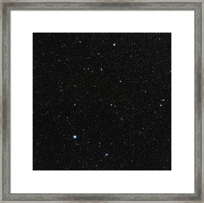 Aquarius Constellation Framed Print by Eckhard Slawik